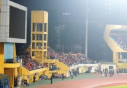 The Hang Day stadium, probably hosting its final international before redevelopment