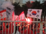 Park Hang-seo's success has meant seen the sales of Korean flags rise